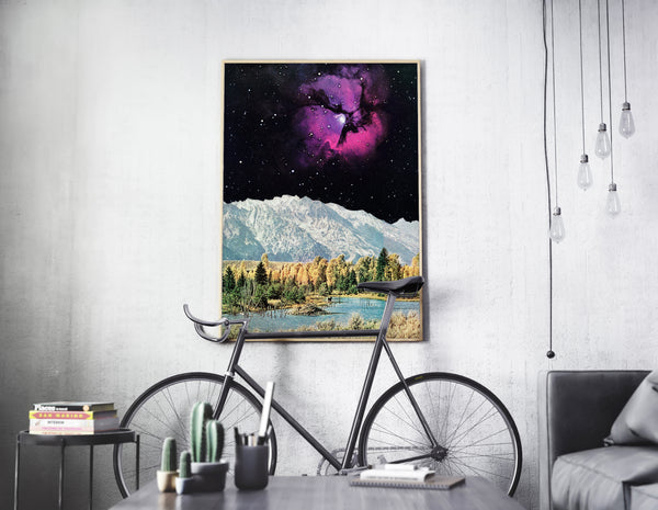 Time and Space - Art Print