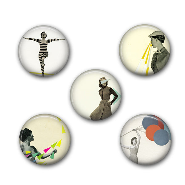 Badge Set - Wonderful Women