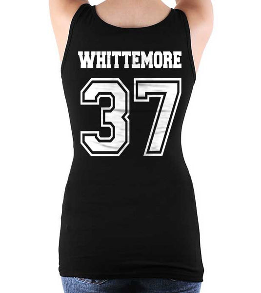Whittemore On BACK Beacon Hills Lacrosse Wolf Women Tank top - Meh. Geek
