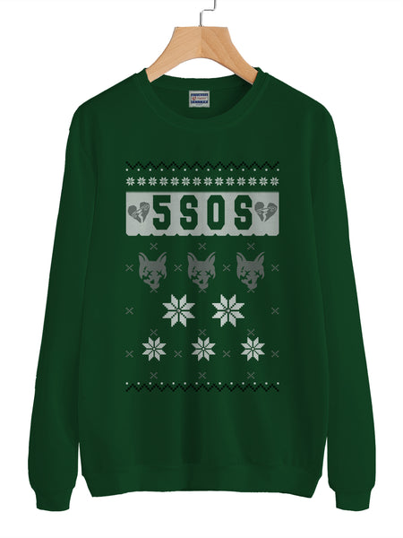 5Sos Ugly Sweater 2 Unisex Crewneck Sweatshirt Adult