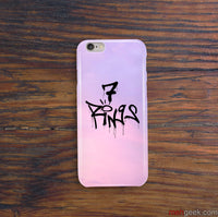 7 Rings Ariana Grande iPhone Snap or Tough Case