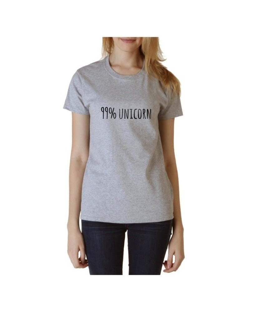 99% Unicorn T-shirt Women - Meh. Geek - 3