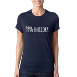 99% Unicorn T-shirt Women