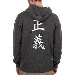 Admiral Fujitora One Piece On BACK Unisex Pullover Hoodie - Meh. Geek - 4