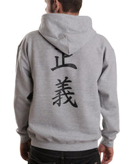 Admiral Fujitora One Piece On BACK Unisex Pullover Hoodie - Meh. Geek - 5