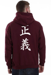 Admiral Fujitora One Piece On BACK Unisex Pullover Hoodie - Meh. Geek - 6