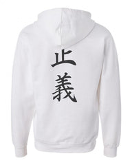 Admiral Fujitora One Piece On BACK Unisex Pullover Hoodie - Meh. Geek - 1