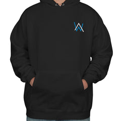 Alan Walker BLUE Ink POCKET On Front Unisex Pullover Hoodie Adult