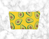 Avocado Yellow Seamless Accessory Stuff Carryall Pouch