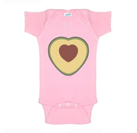 Avocado Love Infant Baby Rib Lap Shoulder Creeper Onesie Bodysuit