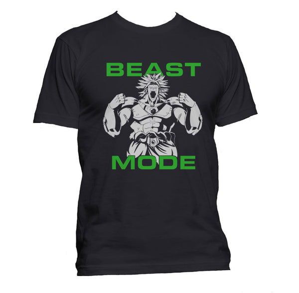 Beast Mode Broly Men T-shirt Tee