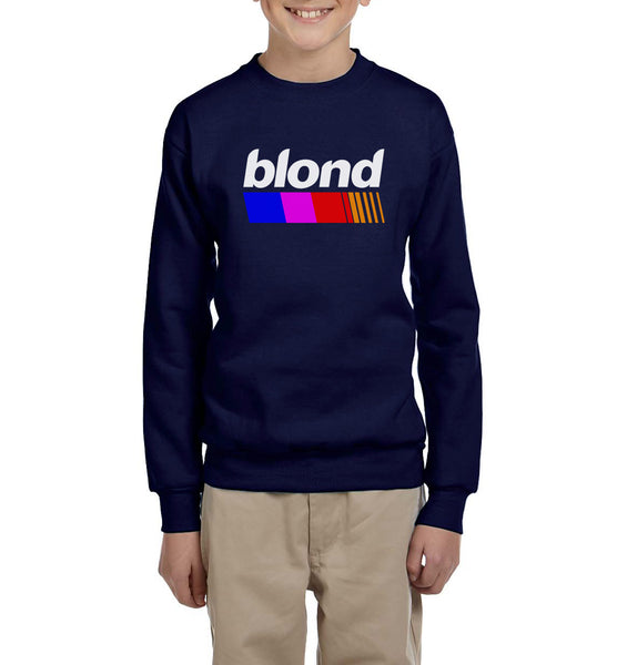 Blond Nascar Kid / Youth Crewneck Sweatshirt