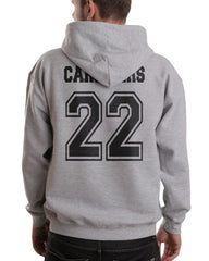 Carstairs 22 On BACK Idris University Unisex Pullover Hoodie - Meh. Geek - 5