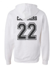 Carstairs 22 On BACK Idris University Unisex Pullover Hoodie - Meh. Geek - 4