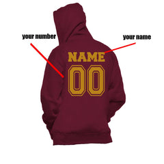 Customize - New Gryffindor SEEKER Quidditch Team Unisex Pullover Hoodie Maroon