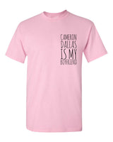 Cameron Dallas Is My Boyfriend Pocket Men T-shirt tee