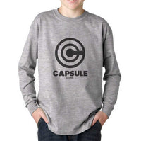 Capsule Corp 1 Kid / Youth Long Sleeves T-shirt tee