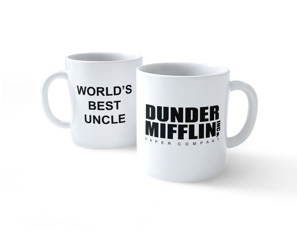 World's Best Uncle Dunder Mifflin Paper Company #1 Coffee Mug 11oz