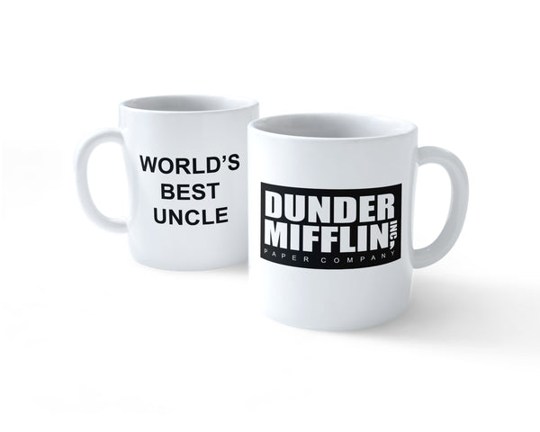 World's Best Uncle Dunder Mifflin Paper Company #2 Coffee Mug 11oz