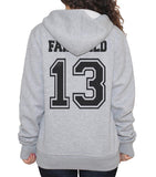 Fairchild 13 Idris University Unisex Pullover Hoodie Light Steel - Meh. Geek - 4