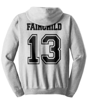 Fairchild 13 Idris University Unisex Pullover Hoodie Light Steel - Meh. Geek - 3