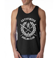 Gryffindor Dueling Club Bw Ink Men Tank Top PA