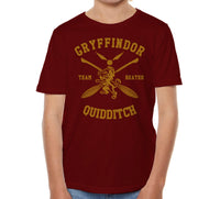 Gryffindor BEATER Quidditch Team Kid / Youth T-shirt tee PA New