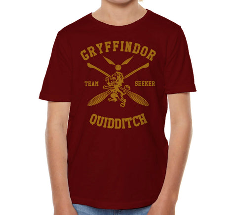 Gryffindor SEEKER Quidditch Team Kid / Youth T-shirt tee PA New