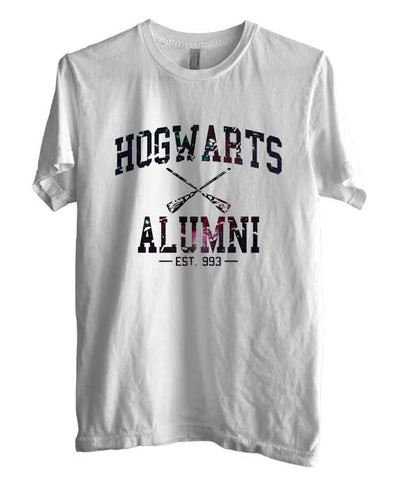Hogwarts Alumni #1 Galaxy Nebula Space Men T-shirt tee HA1