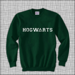 Hogwarts Deathly Harry Potter Unisex Crewneck Sweatshirt - Meh. Geek