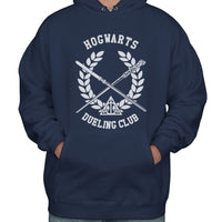 Hogwarts Dueling Club Bw ink Unisex Pullover Hoodie PA