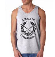 Hogwarts Dueling Club Bw Ink Men Tank Top PA
