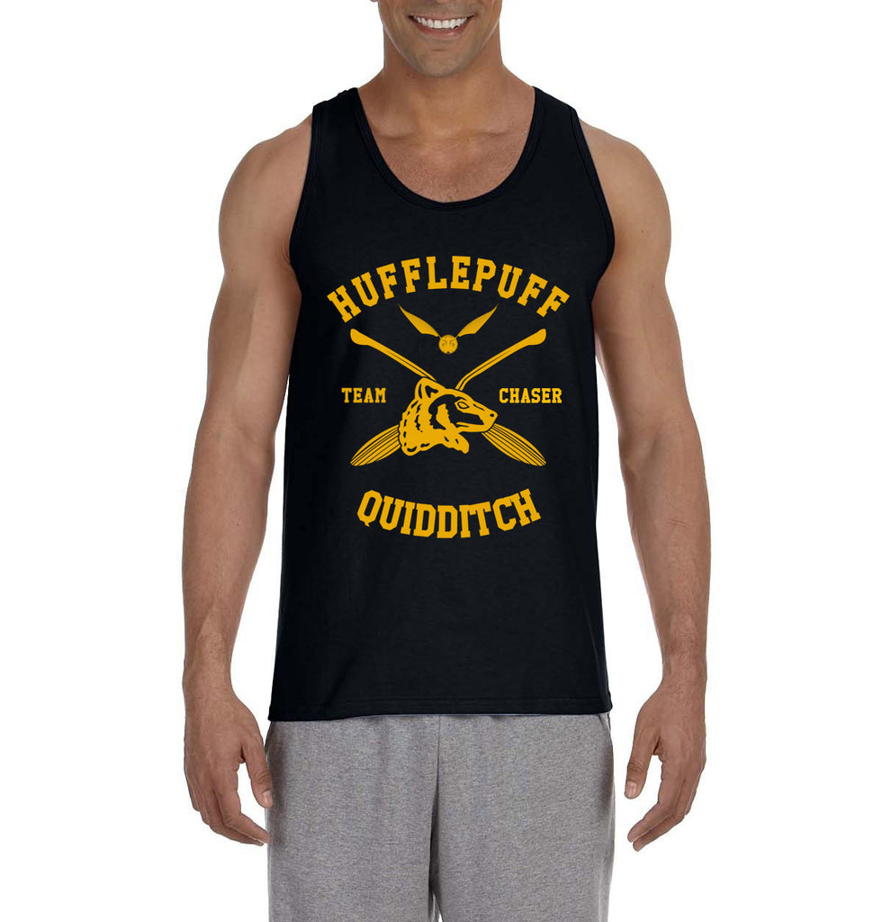 Hufflepuff CHASER Quidditch Team Men Tank Top PA New
