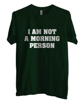 I`m Not A Morning Person T-shirt Men - Meh. Geek - 3