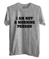 I`m Not A Morning Person T-shirt Men - Meh. Geek - 4