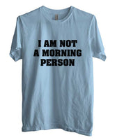 I`m Not A Morning Person T-shirt Men - Meh. Geek - 5