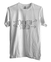 I'm With Stupid T-shirt Men