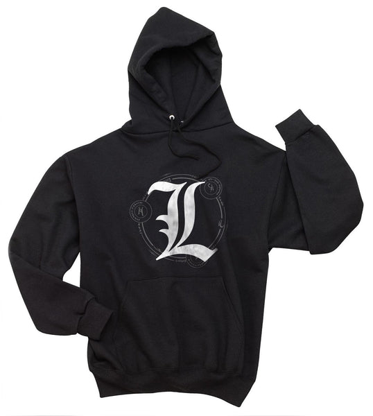 L Death Note Scared Ryuk Light Shinigami Unisex Pullover Hoodie
