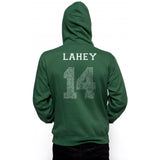 Lahey 14 Quote White Ink on BACK Beacon hills lacrosse Unisex Pullover Hoodie - Meh. Geek