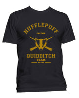 Hufflepuff CAPTAIN Quidditch Team Men T-shirt PA old