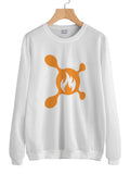 OTF Splat 2 Fire Unisex Crewneck Sweatshirt Adult