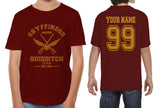 Customize - OLD Gryffindor BEATER Quidditch Team Kid / Youth T-shirt tee