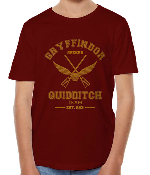 Gryffindor SEEKER Quidditch Team Kid / Youth T-shirt tee PA Old