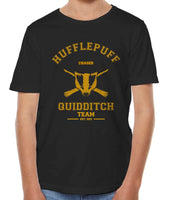 Customize - OLD Hufflepuff CHASER Quidditch Team Kid / Youth T-shirt tee