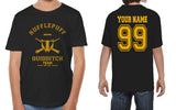 Customize - OLD Hufflepuff KEEPER Quidditch Team Kid / Youth T-shirt tee