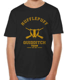 Customize - OLD Hufflepuff PLAIN (No Position) Quidditch Team Kid / Youth T-shirt tee