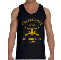 Hufflepuff CAPTAIN Quidditch Team Men Tank Top PA Old