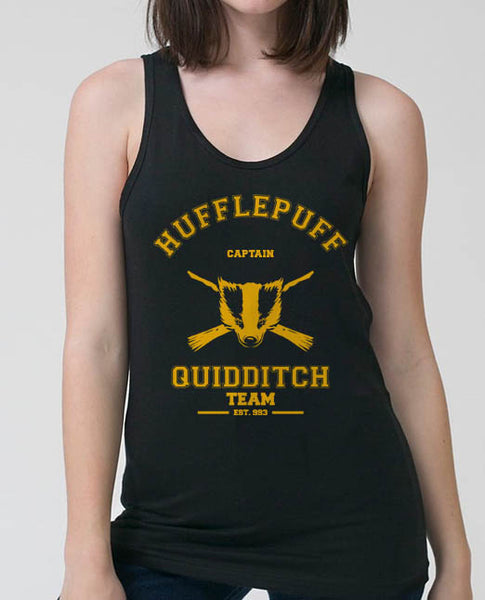 Hufflepuff CAPTAIN Quidditch Team Women Tank top PA old