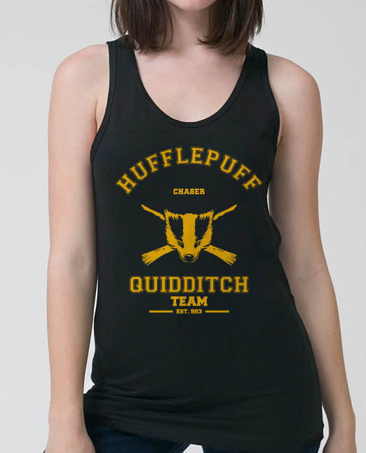Hufflepuff CHASER Quidditch Team Women Tank top PA old