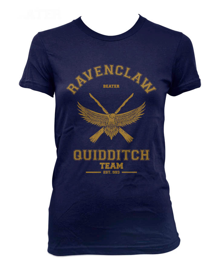 Ravenclaw YELLOW Ink BEATER Quidditch team Women T-shirt PA old